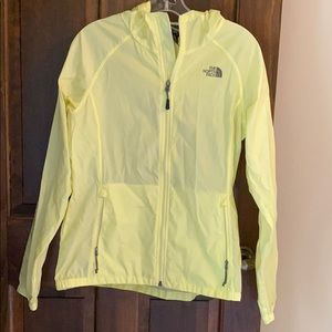 The North Face Yellow Rain Coat